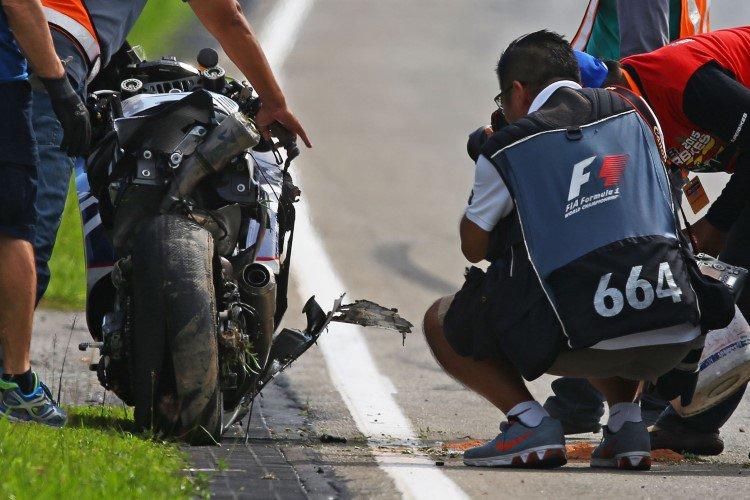 Baz Broken Tyre