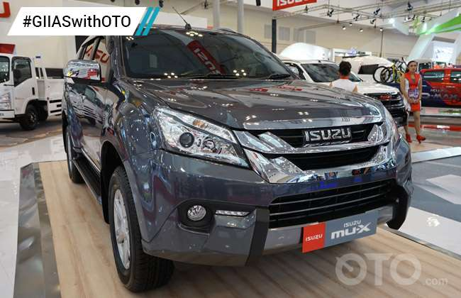 Isuzu New MU-X otobikers