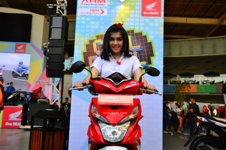 Launching All New BeAT Sporty 2016 41