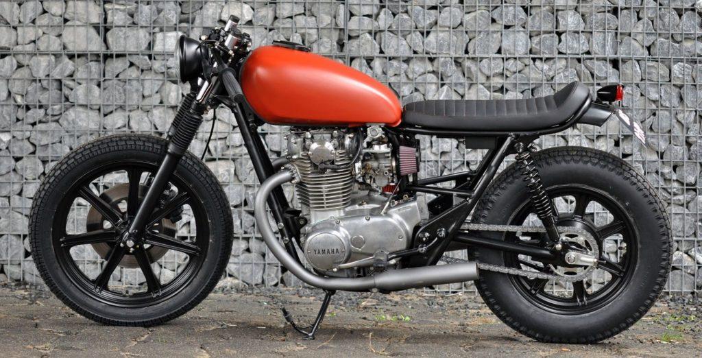 Yamaha XS650 Modif Cafe Racer 2